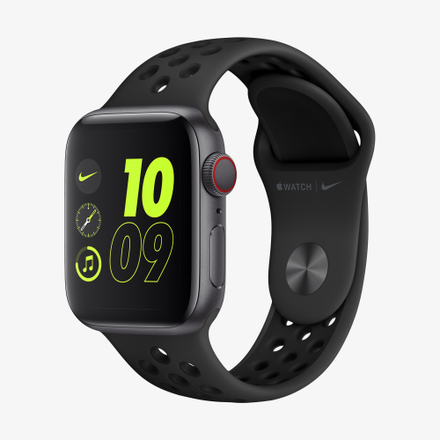 Apple Watch Nike+ Series 6 (GPS + Cellular) 스포츠 밴드 (40mm)