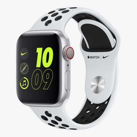 Apple Watch Nike+ SE (GPS + Cellular) 스포츠 밴드 (44mm)